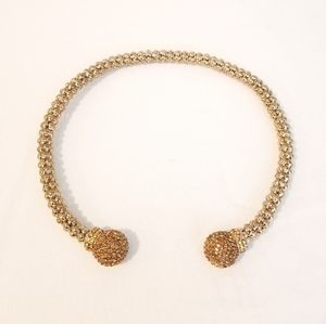 BETSEY JOHNSON Necklace Choker Gold